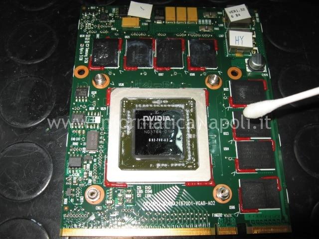 reflow rework nvidia HDX9200 HDX9490EL