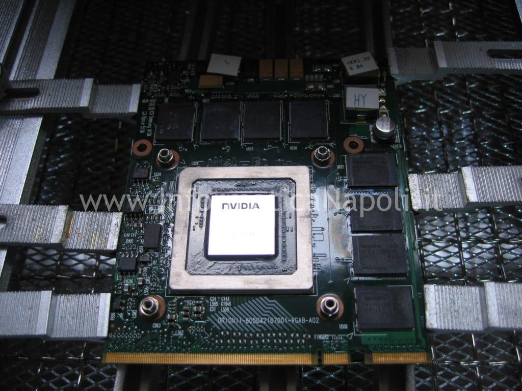 reball nvidia HP HDX9200 HDX9490EL