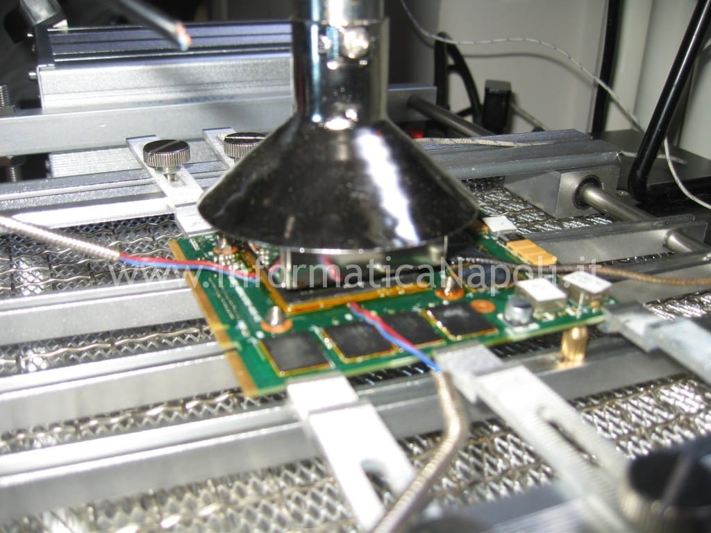 reflow nvidia HP HDX9200 HDX9490EL