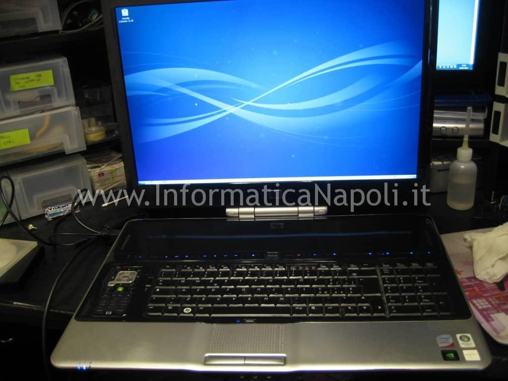 HP HDX9200 HDX9490EL riparato