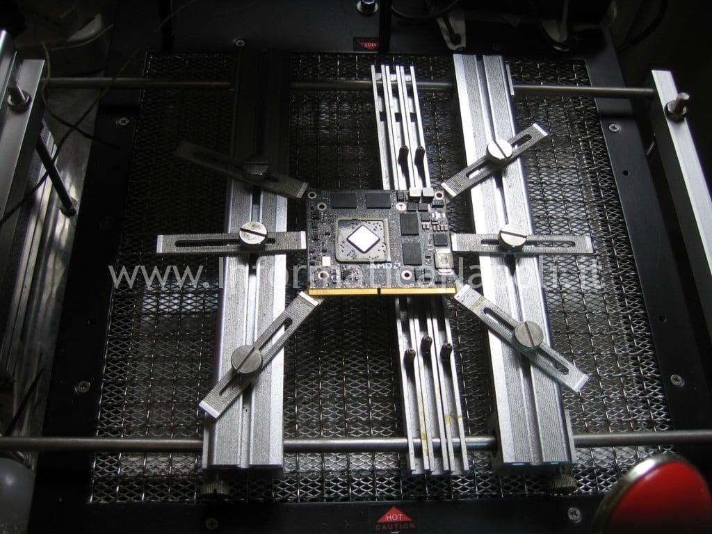 riparazione a1311 ATI Radeon video righe
