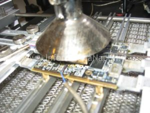 rework logic board A1312 ATI Radeon video righe verticali artefizi