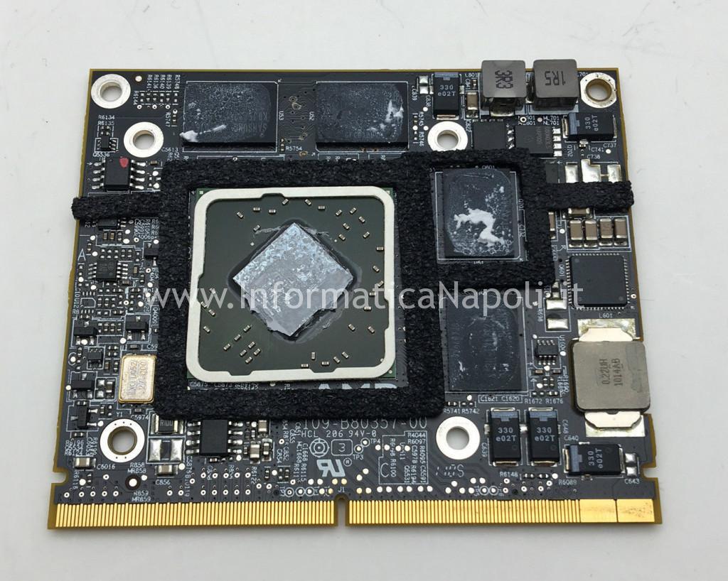 reballing rework AMD Radeon HD 4670 imac
