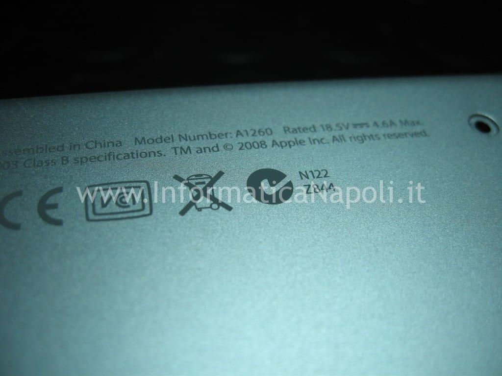 reflow macbook pro A1260