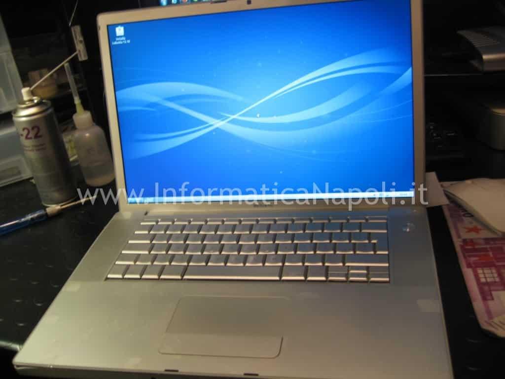 assistenza apple macbook pro A1260 riparato