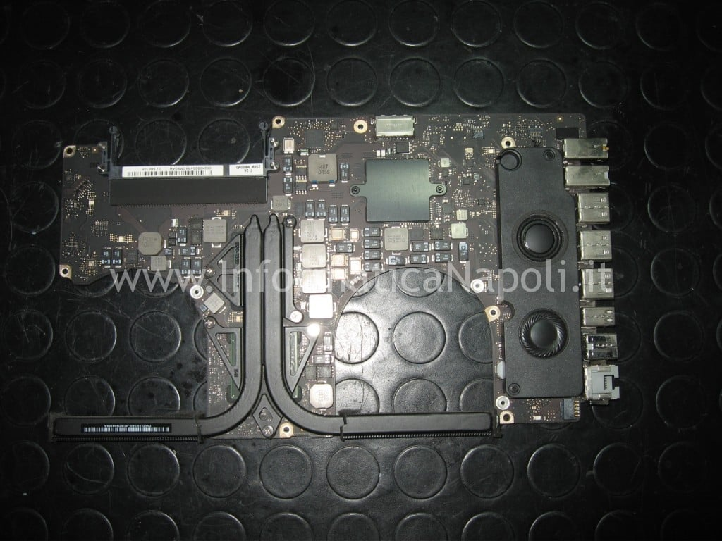 reflow logicboard Apple MacBook pro 17 A1297 unibody