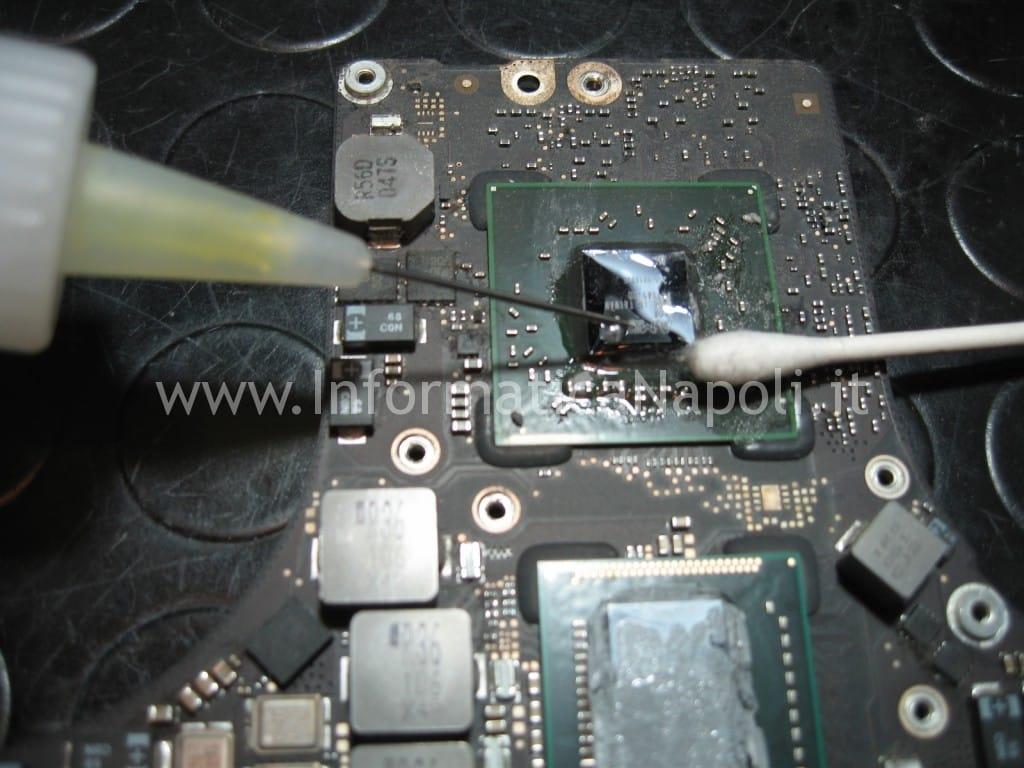pulizia GPU ATI radeon Apple MacBook pro 17 A1297 unibody