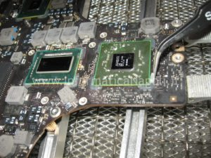 reflow GPU Apple MacBook pro 17 A1297 unibody