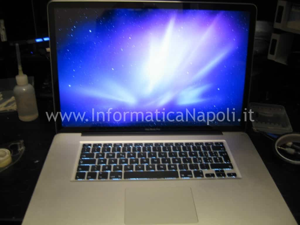 Apple MacBook pro A1297 riparato