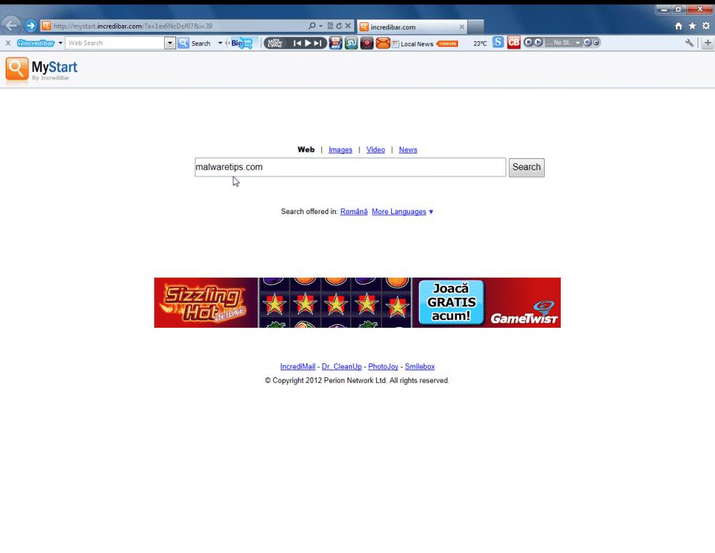 eliminare toolbar firefox chrome internet explorer