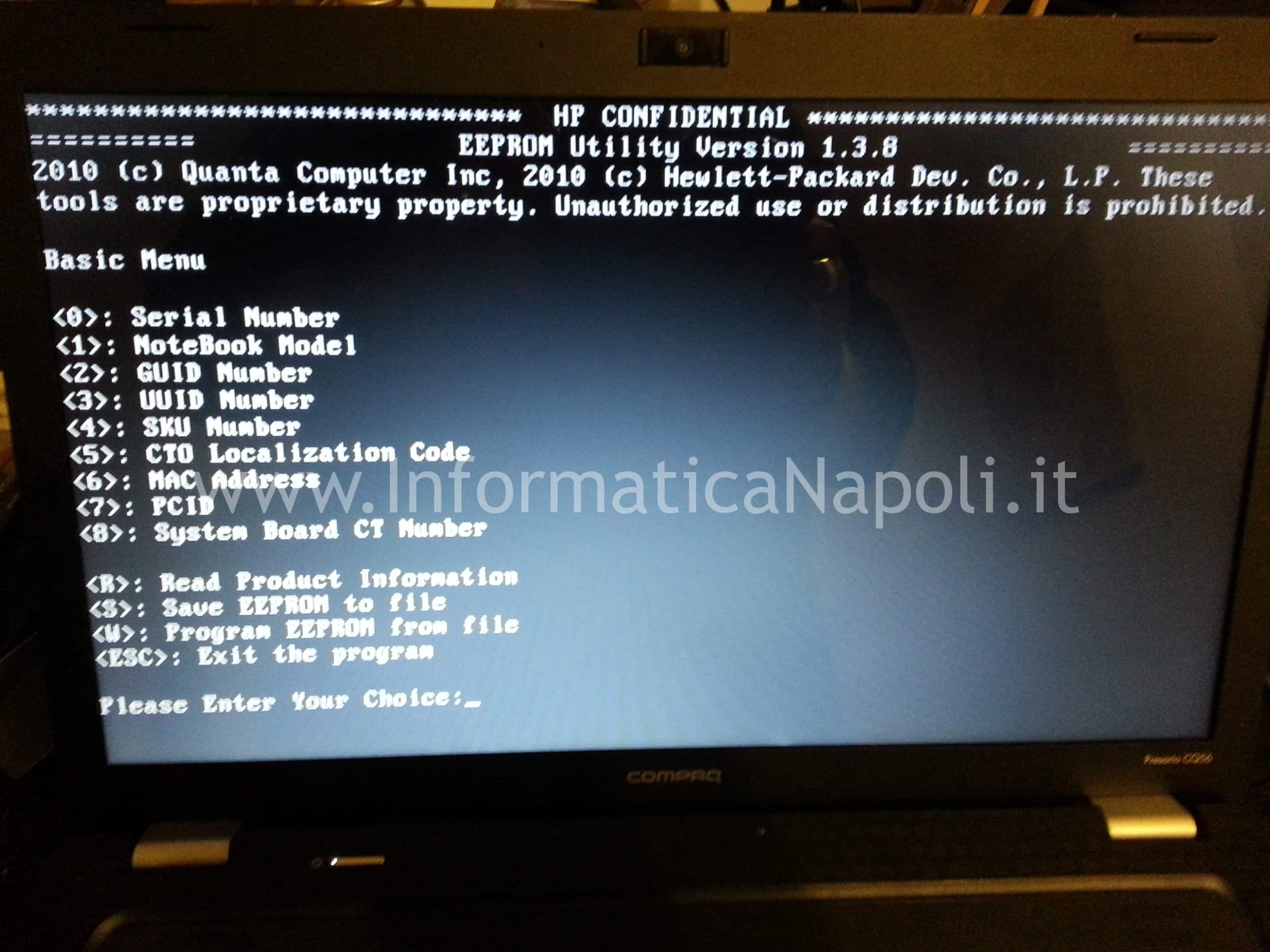 Dmifit tool and Hpbq138 exe