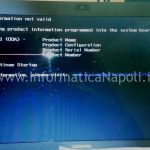 product information not valid HP Compaq