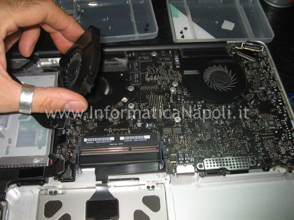 ventola macbook pro a1286