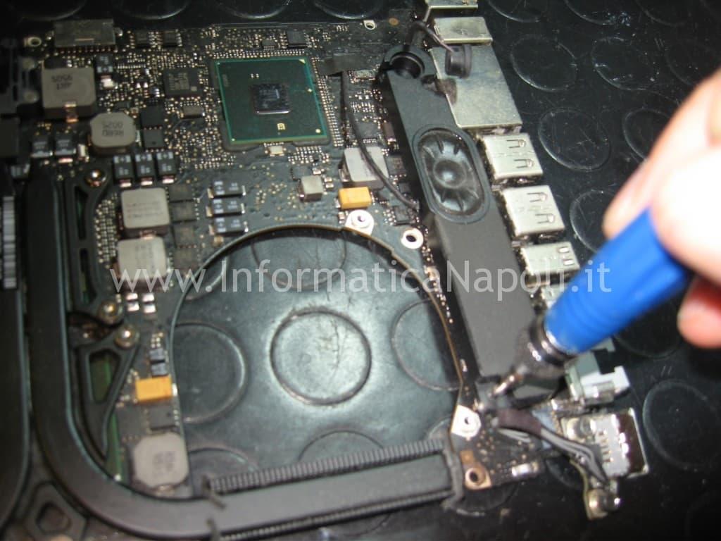 sostituzione logicboard macbook pro a1286