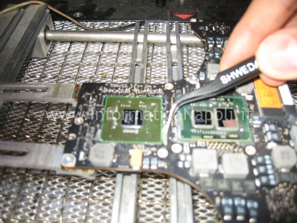 reflow reballing nvidia macbook a1286