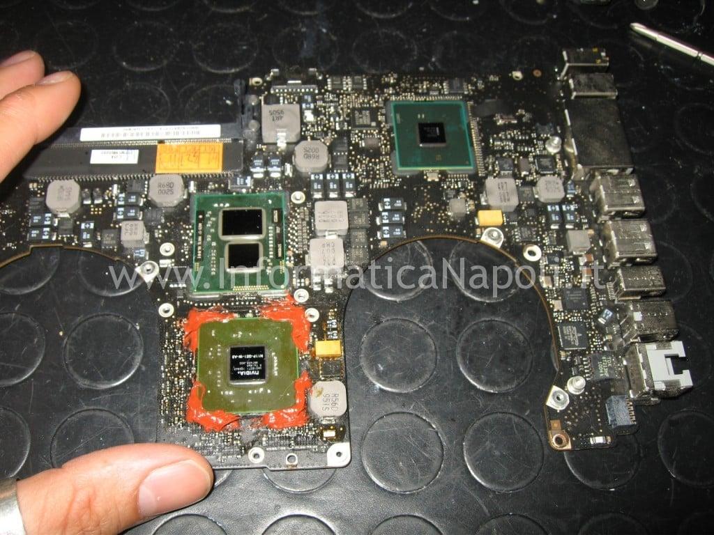 come pulire dissipatore ventola GPU macbook pro unibody a1286