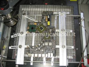 riparazione logic board A1297 macbook pro nvidia