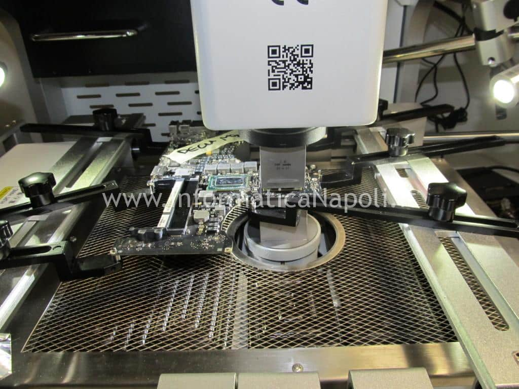 lift reballing reflow macbook 15 a1286