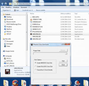 WINCRIS.EXE Crisis_Recovery_Disk boot bios floppy