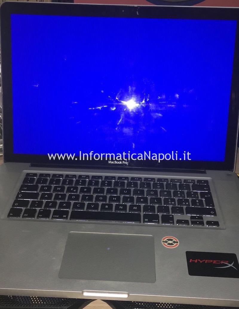 problemi schermata blu macbook pro