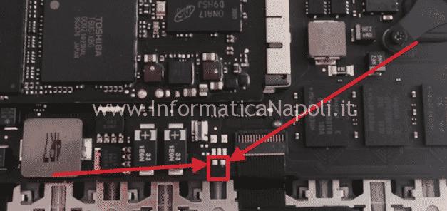 accendere A1369 2010 macbook 13 retina