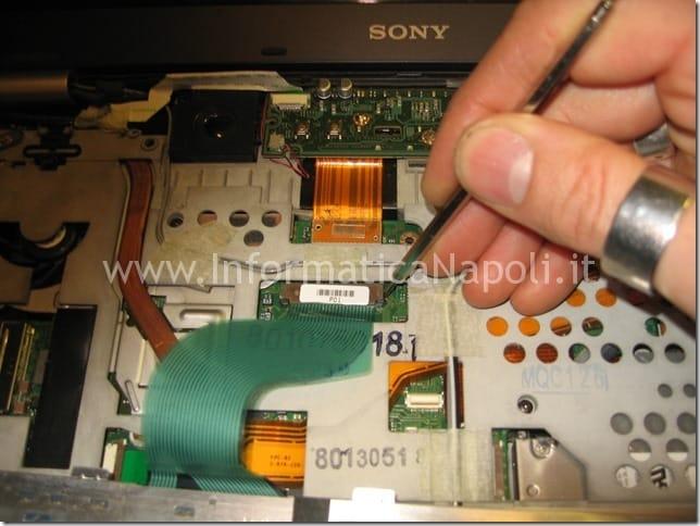 reballing video Sony Vaio VGN-SZ71MN PCG-6W2M