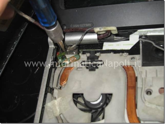 aprire Sony Vaio VGN-SZ71MN PCG-6W2M