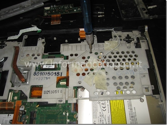 riparare scheda madre Sony Vaio VGN-SZ71MN PCG-6W2M