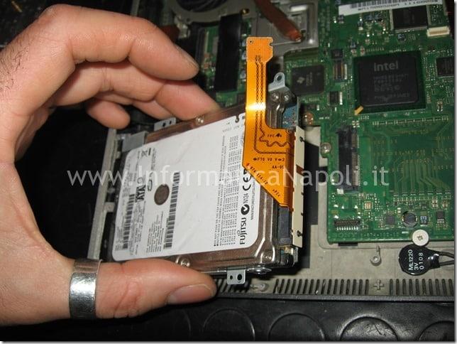 Sostituire SSD HD sony Vaio VGN-SZ71MN PCG-6W2M