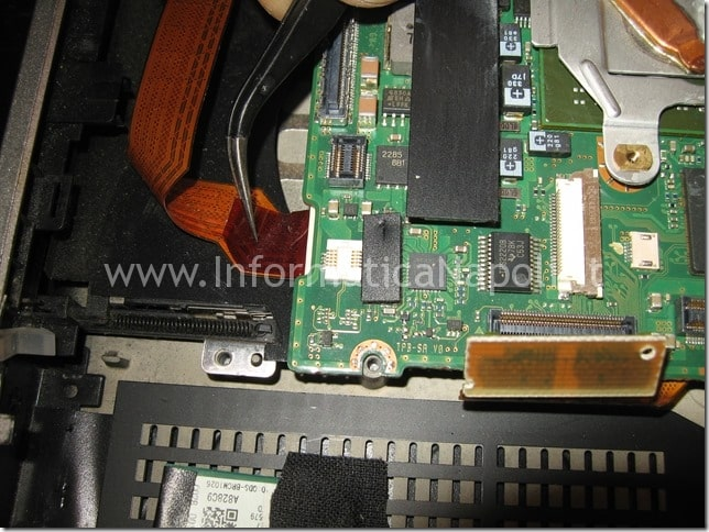 pulire Ventola dissipatore Sony Vaio VGN-SZ71MN PCG-6W2M