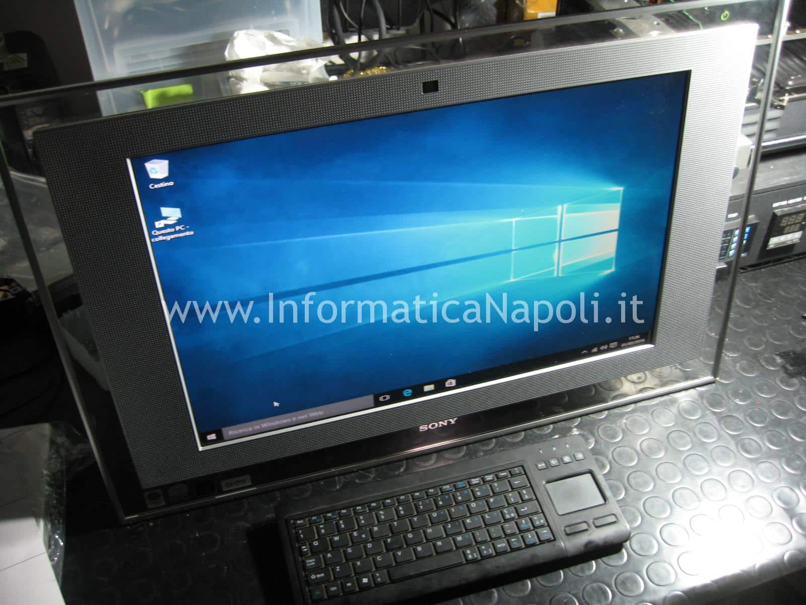 come riparare Sony Vaio All-In-One PCG-252M PCG-282M VGC-LA2 VGC-LA3 VGC-LM1E