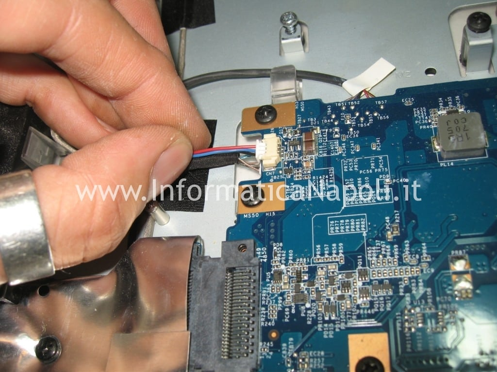 problemi sony PCG-252M PCG-282M VGC-LA2 VGC-LA3