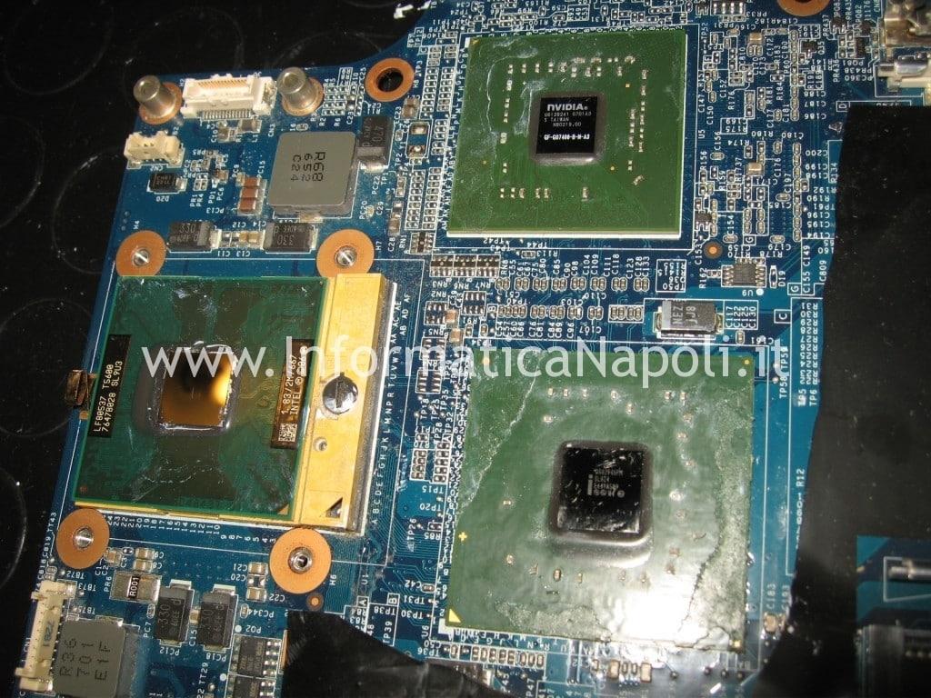 reballing nvidia PCG-252M PCG-282M VGC-LA2 VGC-LA3