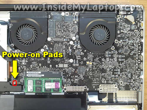 assistenza MacBook Pro 17 pollici metà 2010 logicboard napoli