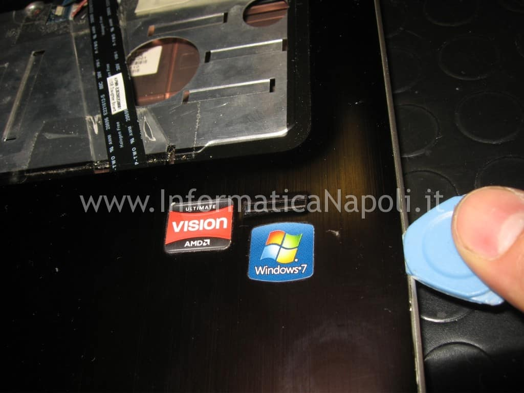 touchpad HP pavilion DV7-6000el dv7