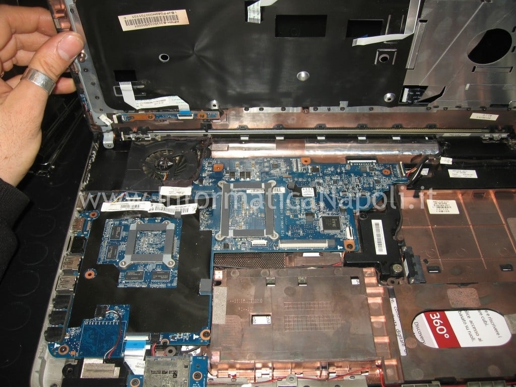 scheda madre HP pavilion DV7-6000el dv7