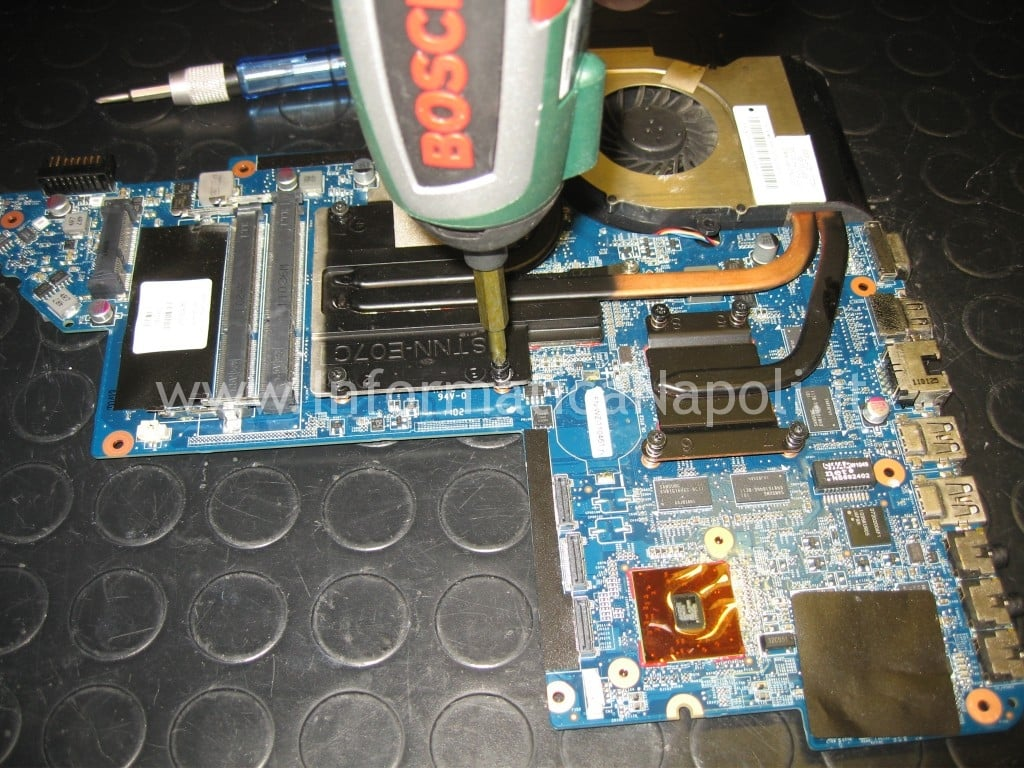 dissipatore ventola scheda madre HP pavilion DV7-6000el dv7