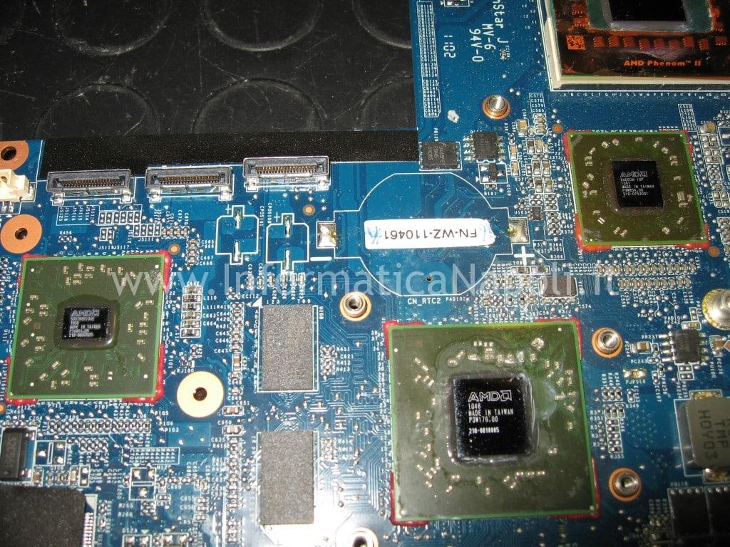 reflow cpu gpu AMD HP pavilion DV7-6000el dv7
