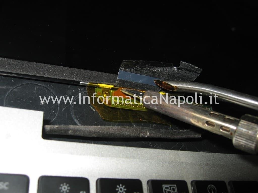 riparare display led lcd apple macbook a1278 napoli