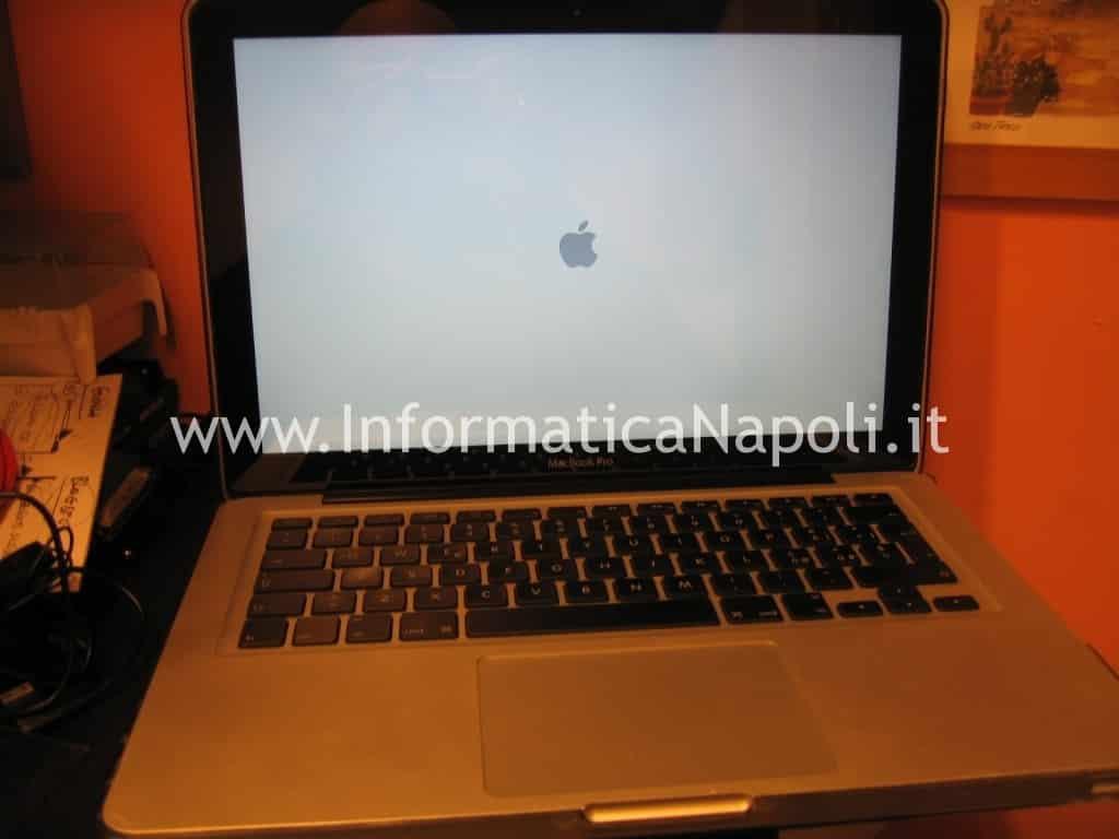 riparazione display led lcd apple macbook a1278 napoli