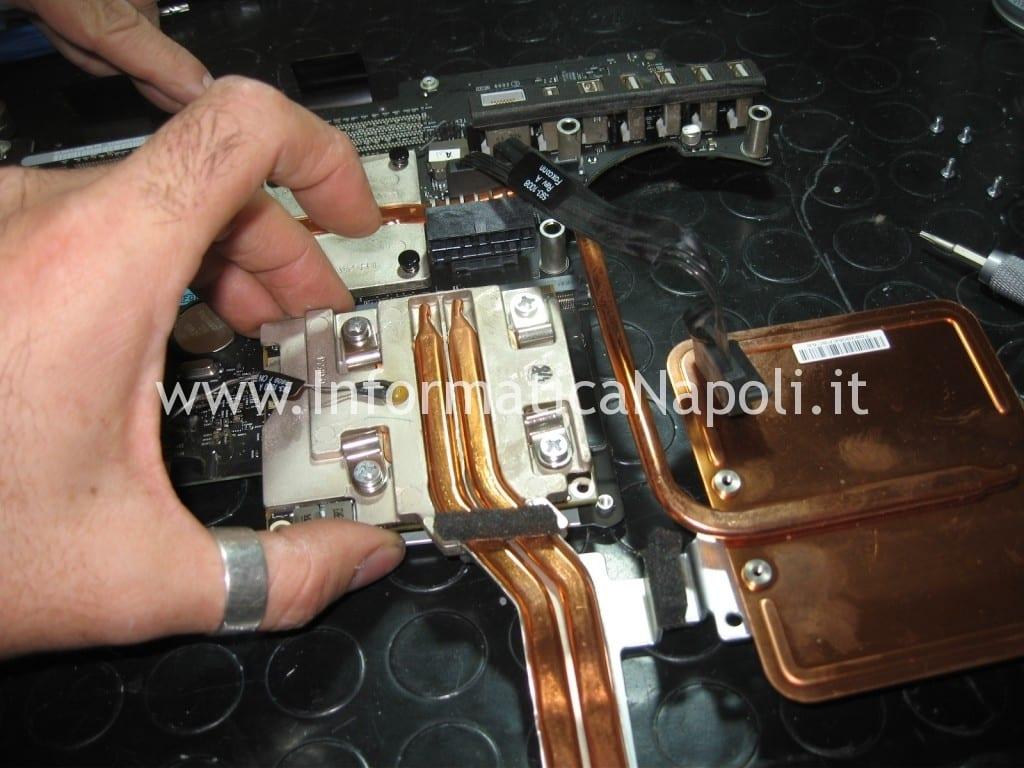riparazione scheda video apple imac A1311 schermo 21.5