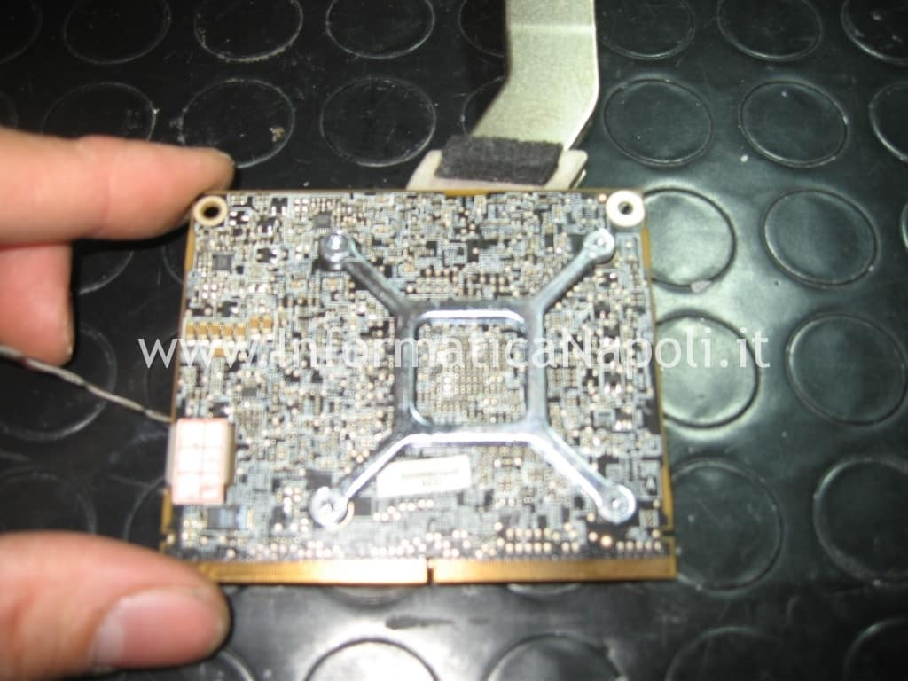 scheda video apple imac A1311 con problemi