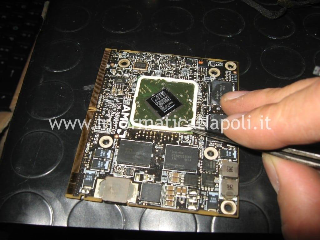 reflow scheda video ATI apple imac A1311