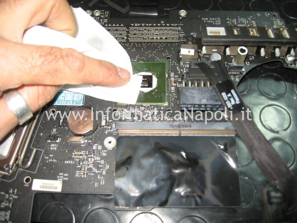 surriscaldamento processore apple imac 21 A1311