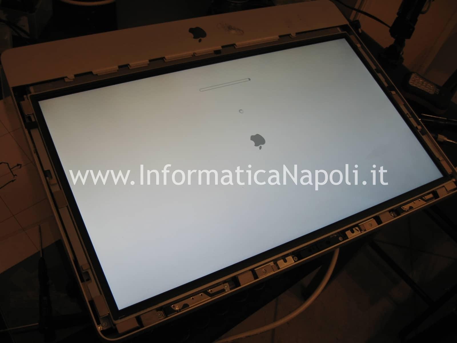 riparazione video apple imac A1311 napoli