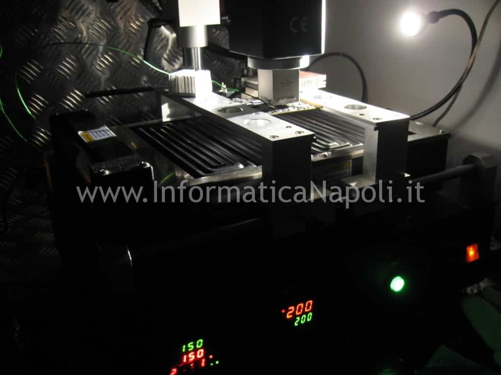 come effettuare reballing scheda video ATI AMD apple imac A1225