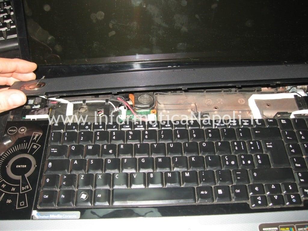 ripararazione acer 8920g con problemi accensione