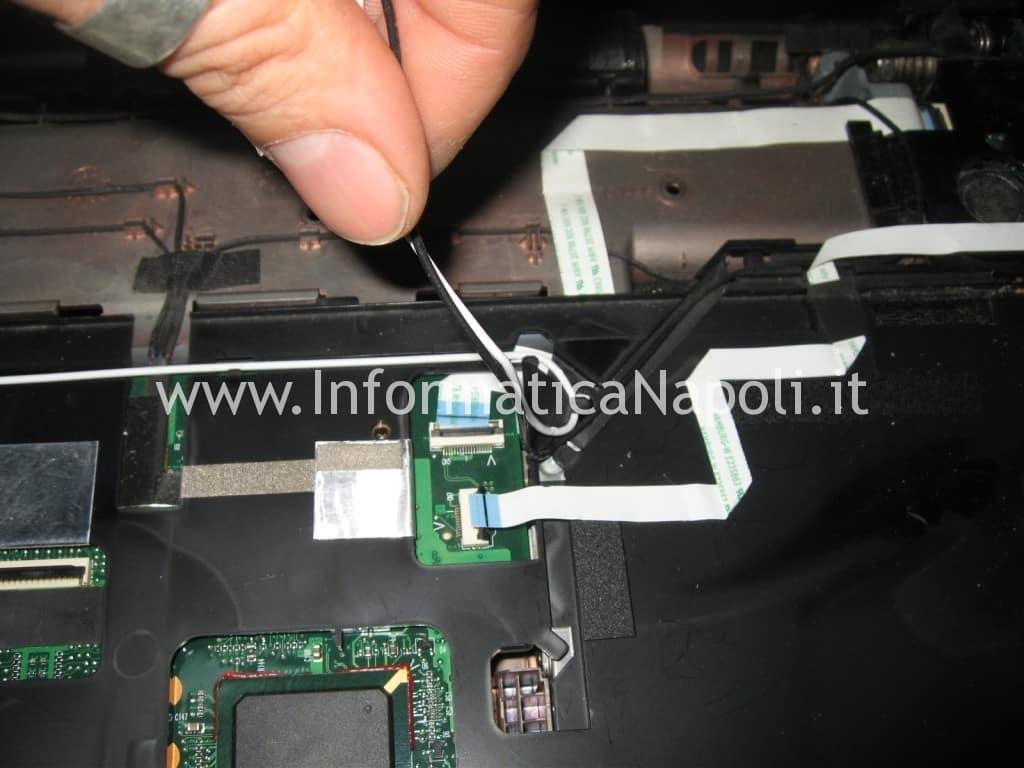 smontare wifi Acer 8920