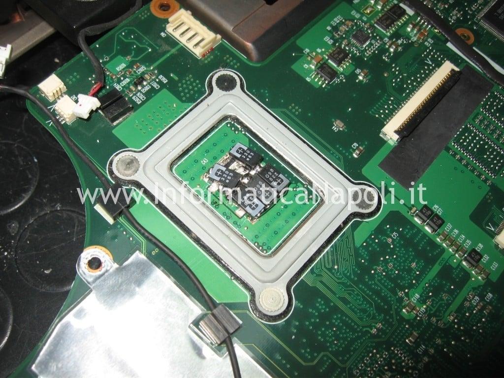 sostituire condensatori scheda madre Acer 6935