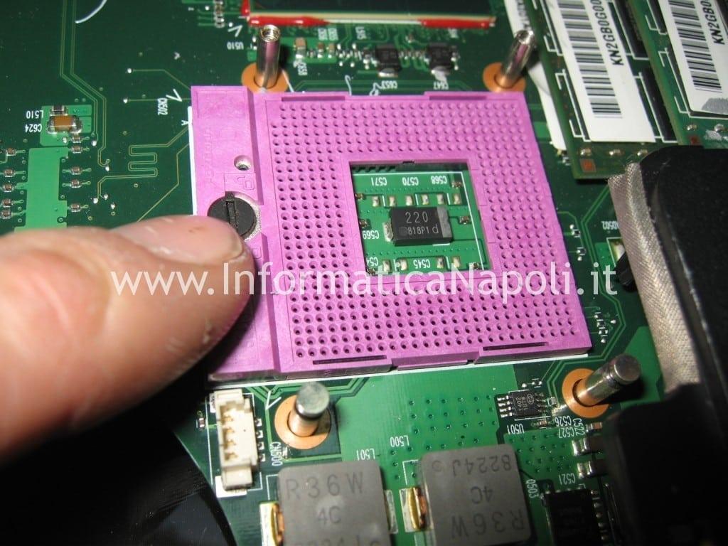 come ripare scheda madre Acer 6935